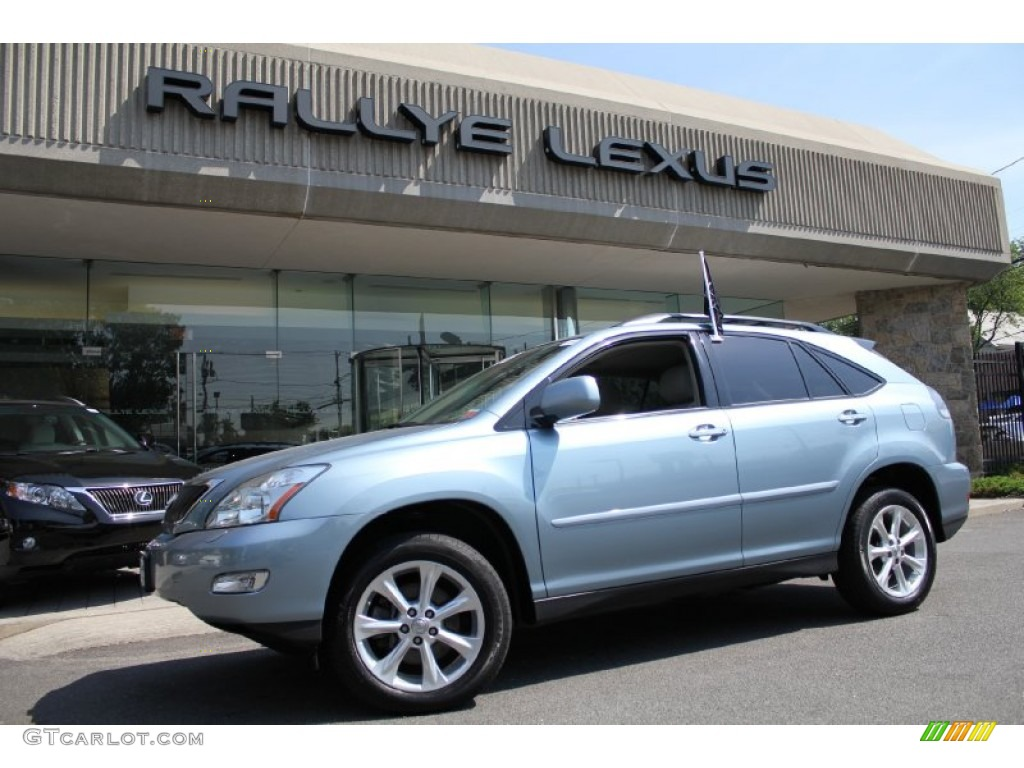 2008 breakwater blue metallic lexus rx 350 awd 50231101. Black Bedroom Furniture Sets. Home Design Ideas
