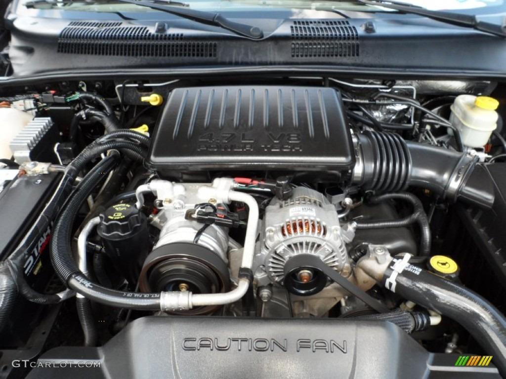 2004 Jeep Grand Cherokee Laredo 4 7 Liter Sohc 16v V8