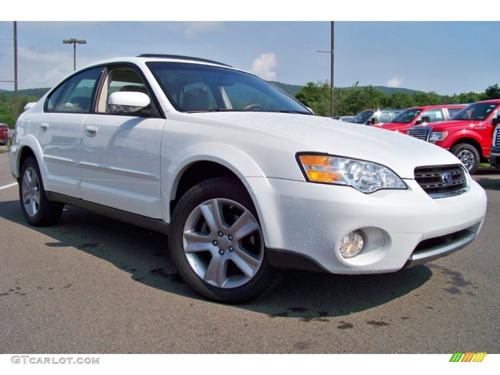 satin white pearl 2006 subaru outback 3 0 r l l bean. Black Bedroom Furniture Sets. Home Design Ideas