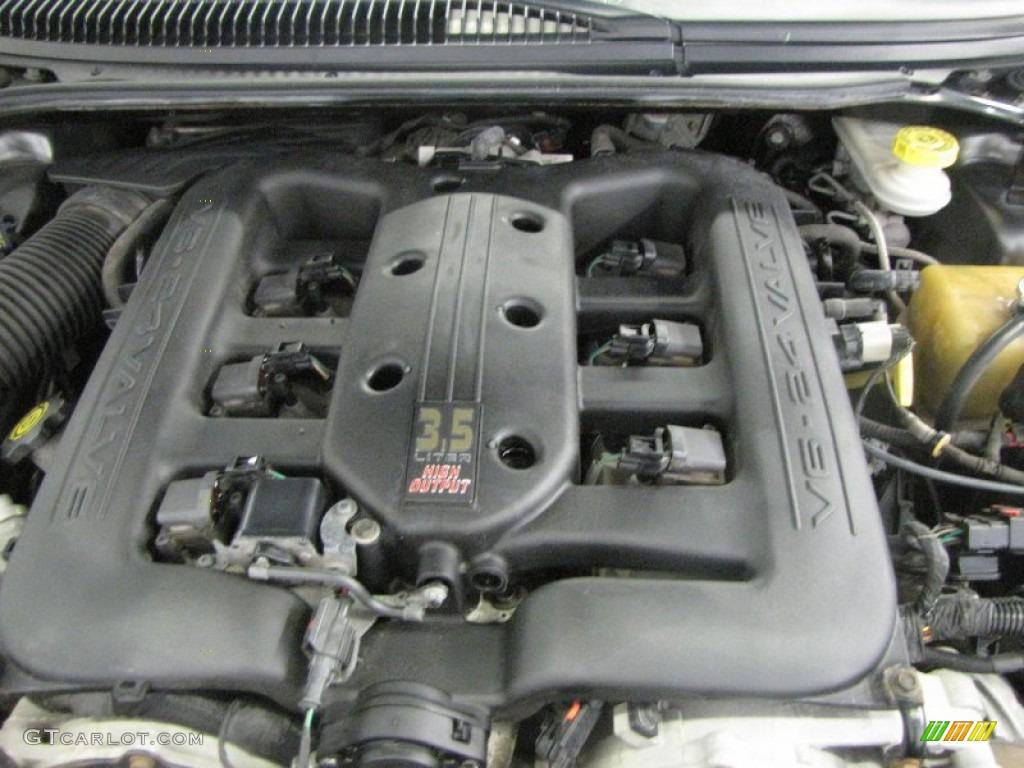 2002 Chrysler 300 M Sedan 3 5 Liter Sohc 24 Valve V6