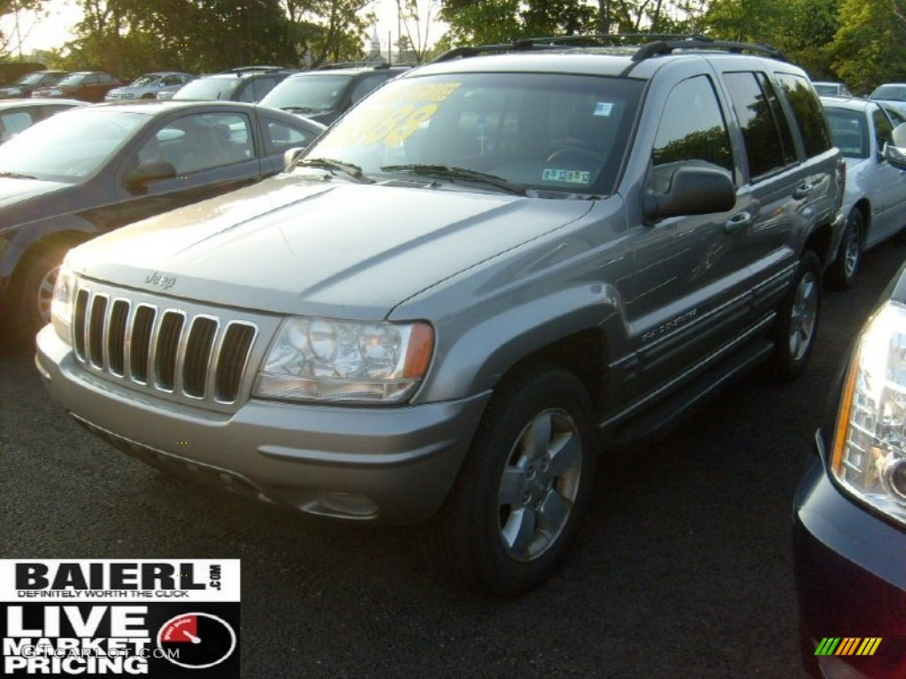 2001 graphite grey pearl jeep grand cherokee limited 4x4 51424964 photo 3 car. Black Bedroom Furniture Sets. Home Design Ideas