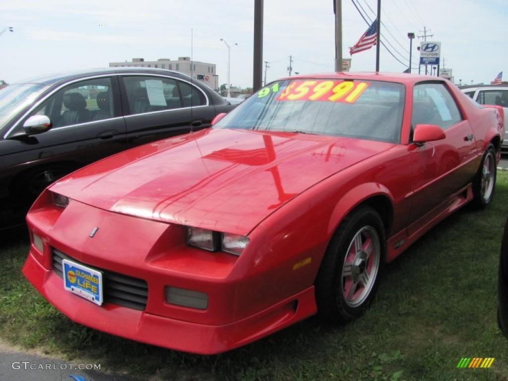 1991 Bright Red Chevrolet Camaro RS 51425447 Photo 14  GTCarLot