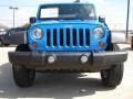 2011 Cosmos Blue Jeep Wrangler Sport S 4x4  photo #8