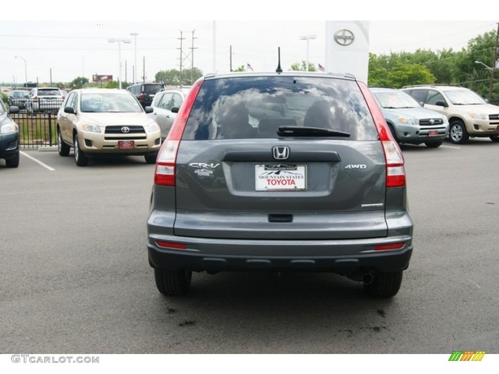 2011 CR-V SE 4WD - Polished Metal Metallic / Black photo #4