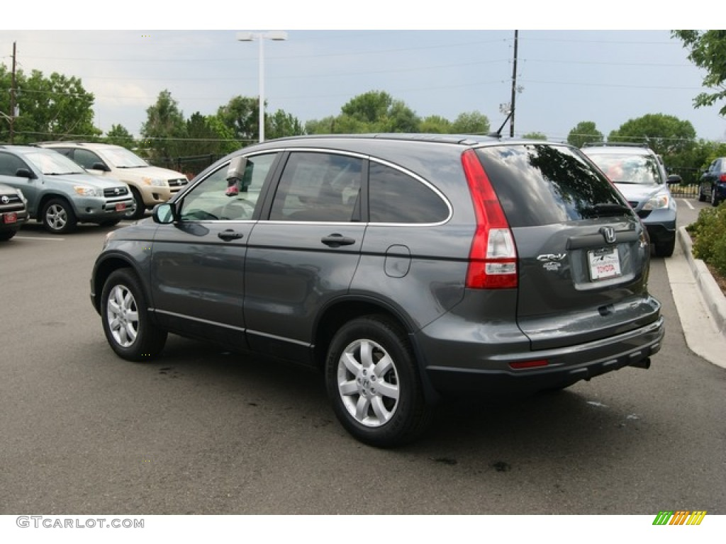 2011 CR-V SE 4WD - Polished Metal Metallic / Black photo #5