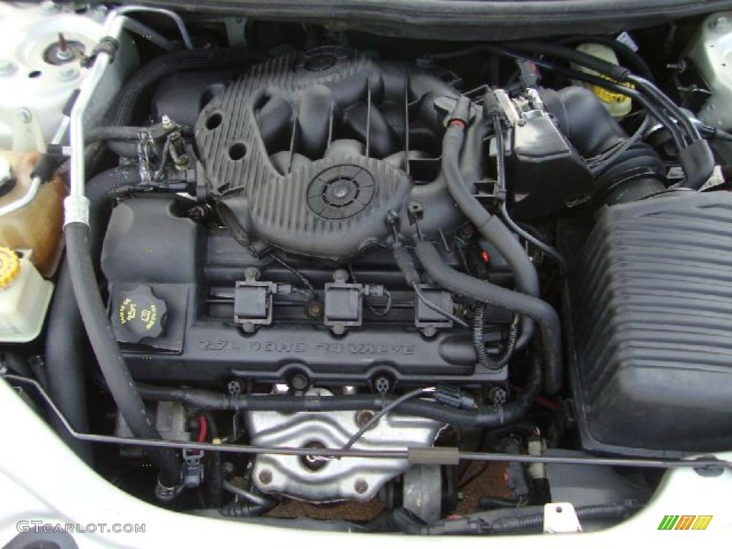 2004 chrysler sebring lx convertible 2.7 liter dohc 24 ... 2004 chrysler sebring 2 7 engine diagram chrysler 300 2 7 engine diagram knock sensor
