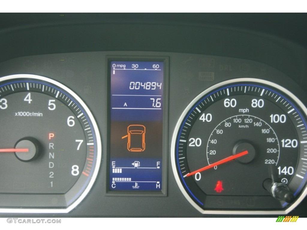 2011 CR-V SE 4WD - Polished Metal Metallic / Black photo #8
