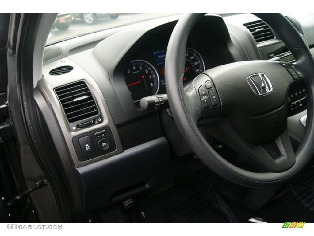 2011 CR-V SE 4WD - Polished Metal Metallic / Black photo #25