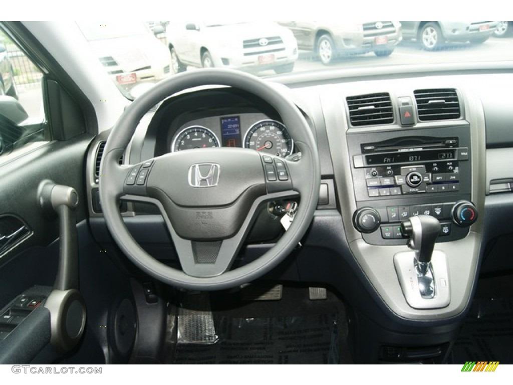 2011 CR-V SE 4WD - Polished Metal Metallic / Black photo #26