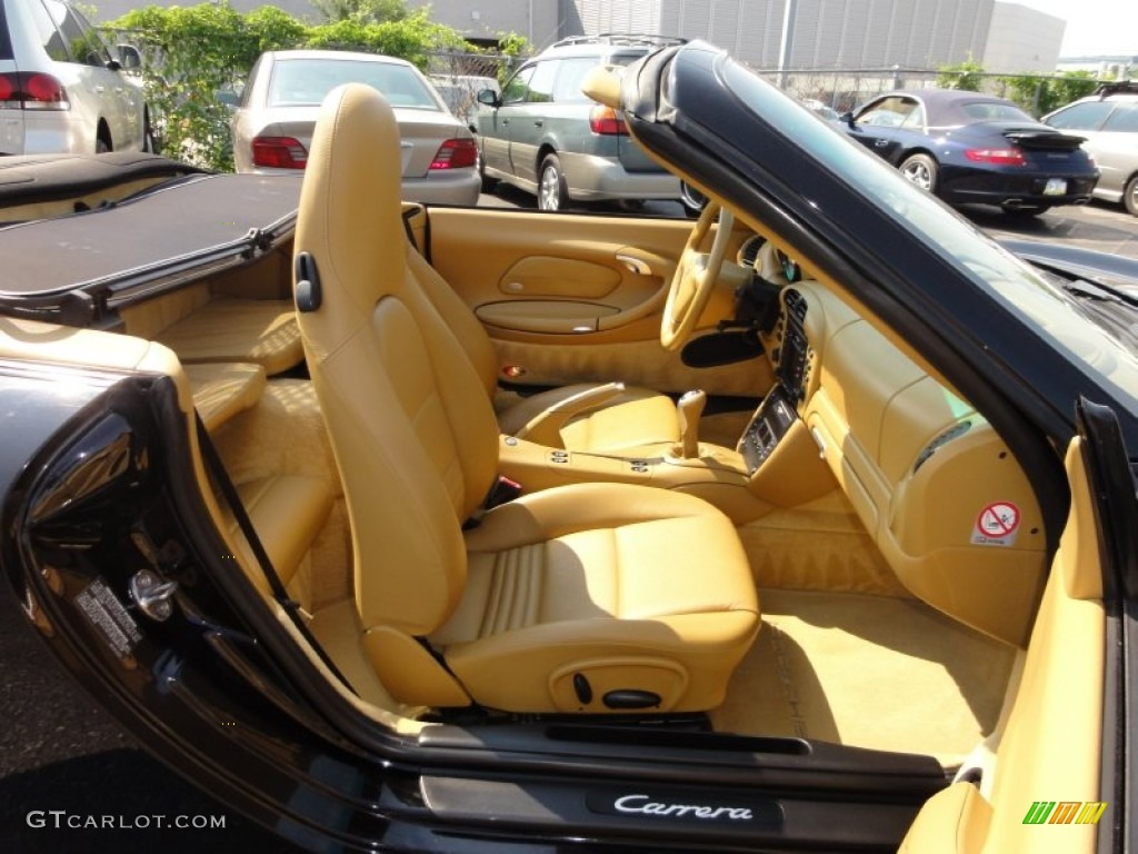 Savanna Beige Interior 2002 Porsche 911 Carrera Cabriolet Photo 51449073 Gtcarlot Com