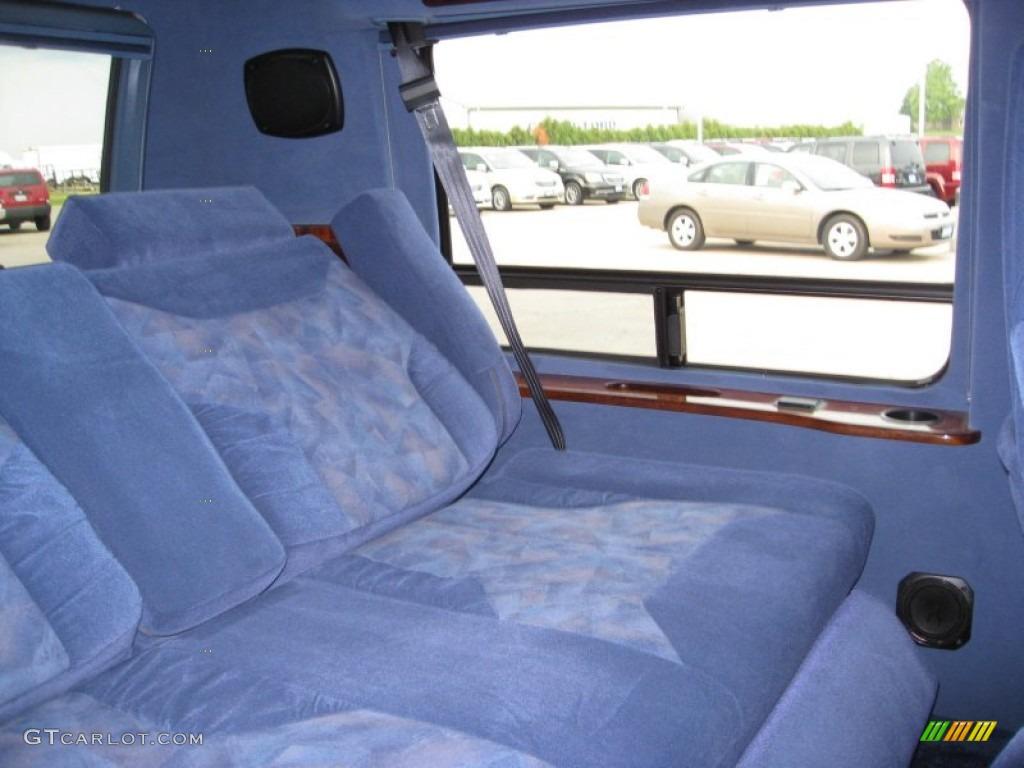 1996 dodge ram van 2500 passenger conversion interior