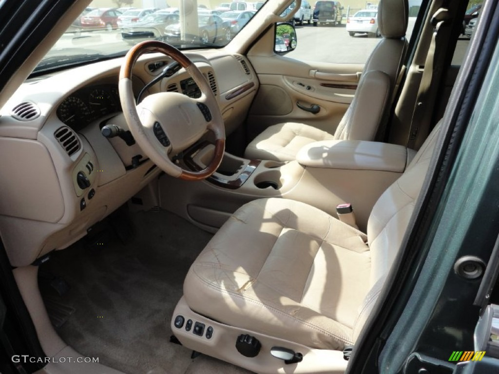 Medium prairie tan interior 1999 lincoln navigator 4x4 photo 51457440 2000 lincoln navigator interior
