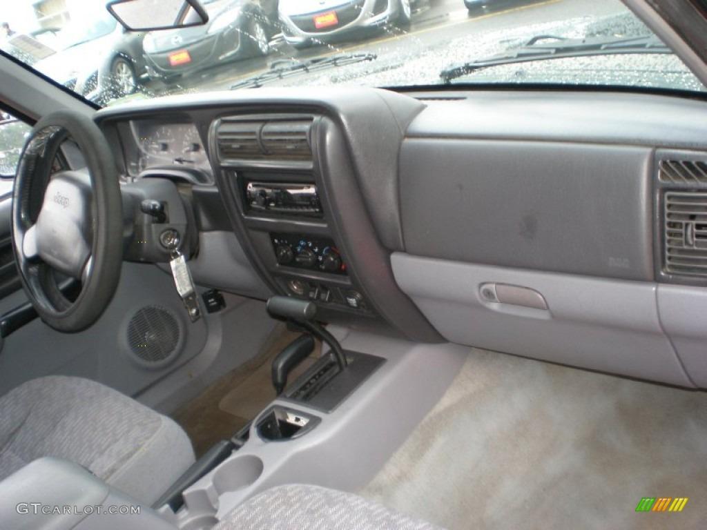 Mist Gray Interior 1998 Jeep Cherokee Sport 4x4 Photo 51460305
