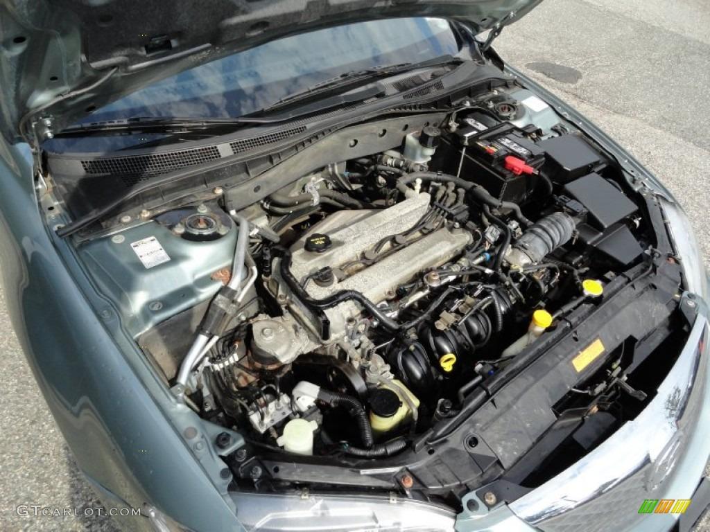 2003 Mazda MAZDA6 i Sedan 2.3 Liter DOHC 16 Valve 4 ...