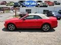 2011 Race Red Ford Mustang V6 Premium Convertible  photo #3