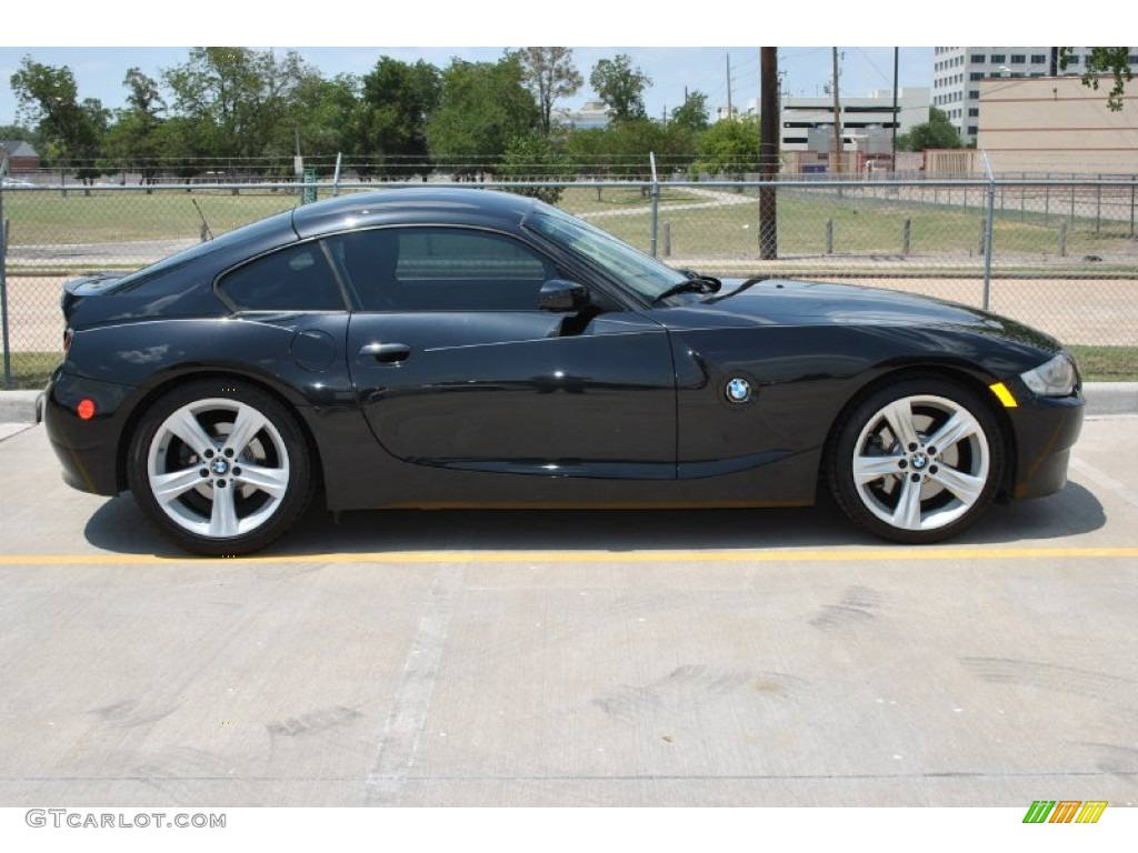 Jet Black 2007 Bmw Z4 3 0si Coupe Exterior Photo 51474834 Gtcarlot Com