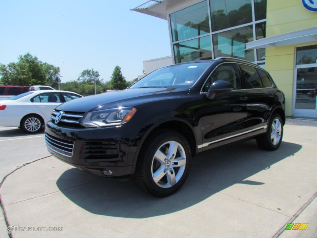 2011 Black Volkswagen Touareg Tdi Lux 4xmotion 51479224 Gtcarlot Com Car Color Galleries