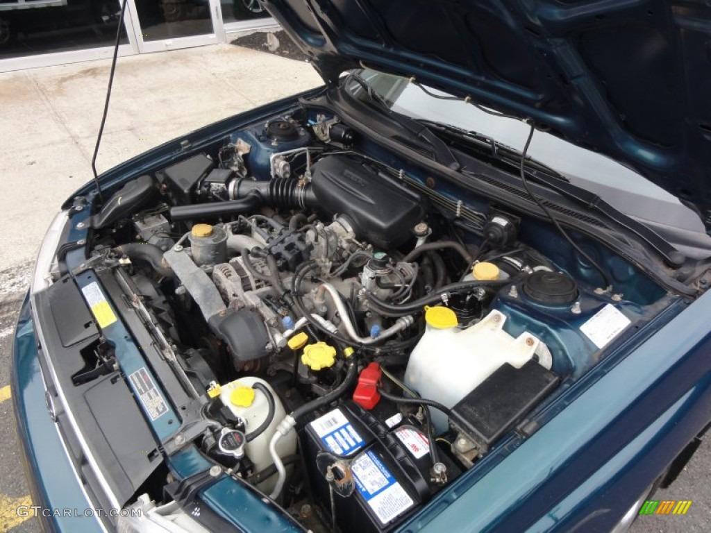 1998 Subaru Legacy L Sedan 2.5 Liter DOHC 16-Valve Flat 4 ...