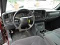 2000 Sierra 1500 SLE Extended Cab 4x4 Graphite Interior