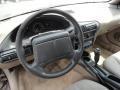 1996 Chevrolet Cavalier Beige Interior Steering Wheel Photo
