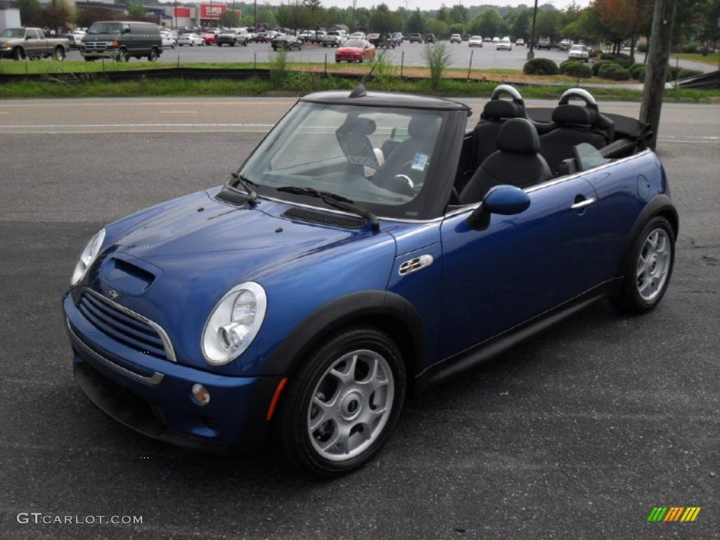 2007 lightning blue metallic mini cooper s convertible 51479441 car color. Black Bedroom Furniture Sets. Home Design Ideas