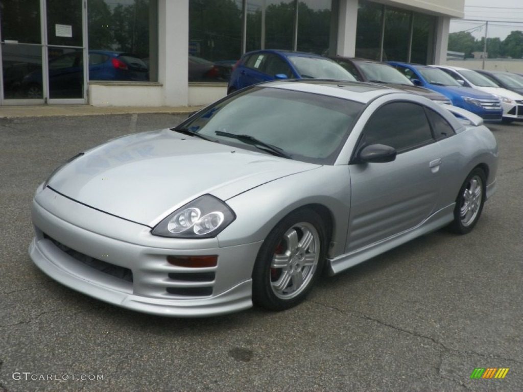 2001 sterling silver metallic mitsubishi eclipse gt coupe. Black Bedroom Furniture Sets. Home Design Ideas