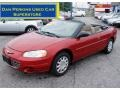 2003 Inferno Red Tinted Pearl Chrysler Sebring LX Convertible #51478595