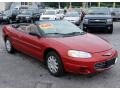 2003 Inferno Red Tinted Pearl Chrysler Sebring LX Convertible  photo #3