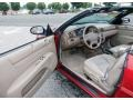2003 Inferno Red Tinted Pearl Chrysler Sebring LX Convertible  photo #11