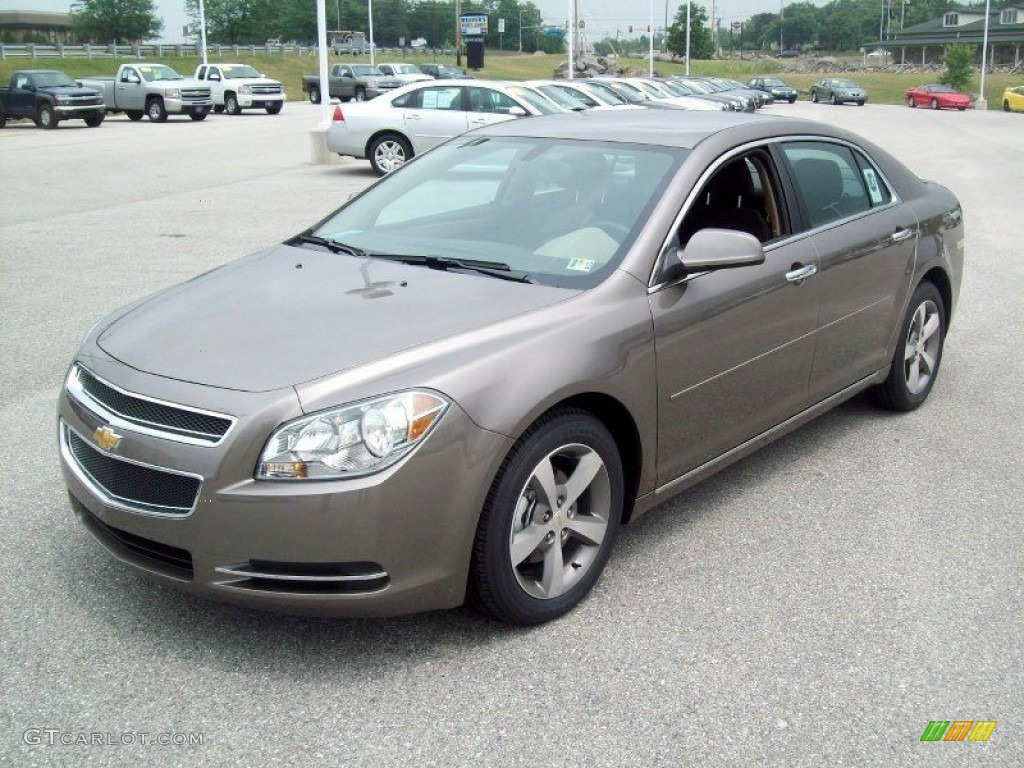 mocha steel metallic 2012 chevrolet malibu lt exterior photo 51500698. Black Bedroom Furniture Sets. Home Design Ideas