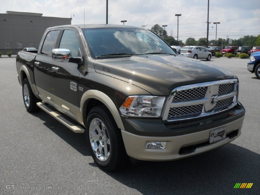 2011 sagebrush pearl dodge ram 1500 laramie longhorn crew cab 4x4 51479490 photo 5 gtcarlot. Black Bedroom Furniture Sets. Home Design Ideas