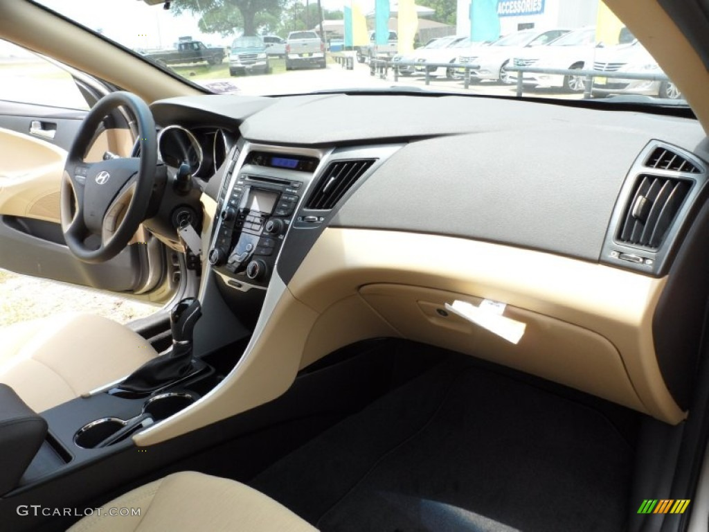 Camel Interior 2012 Hyundai Sonata Gls Photo 51508732