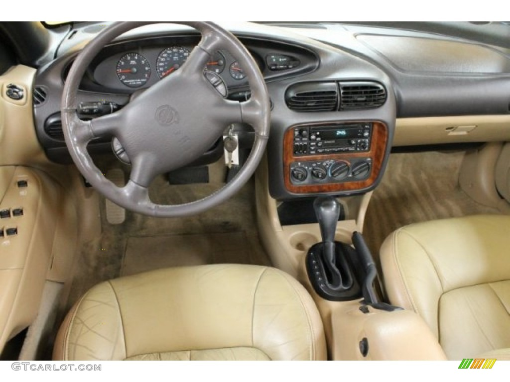 1999 Chrysler Sebring Jxi Convertible Camel Beige