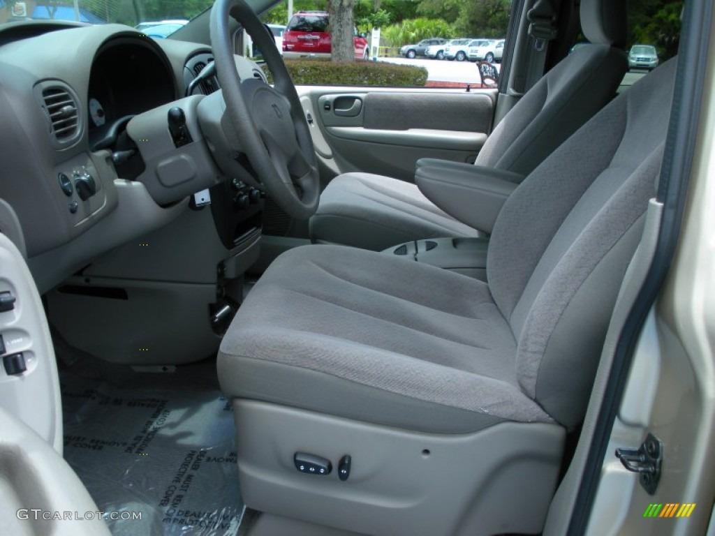 Sandstone Interior 2001 Dodge Grand Caravan EX Photo 51512176