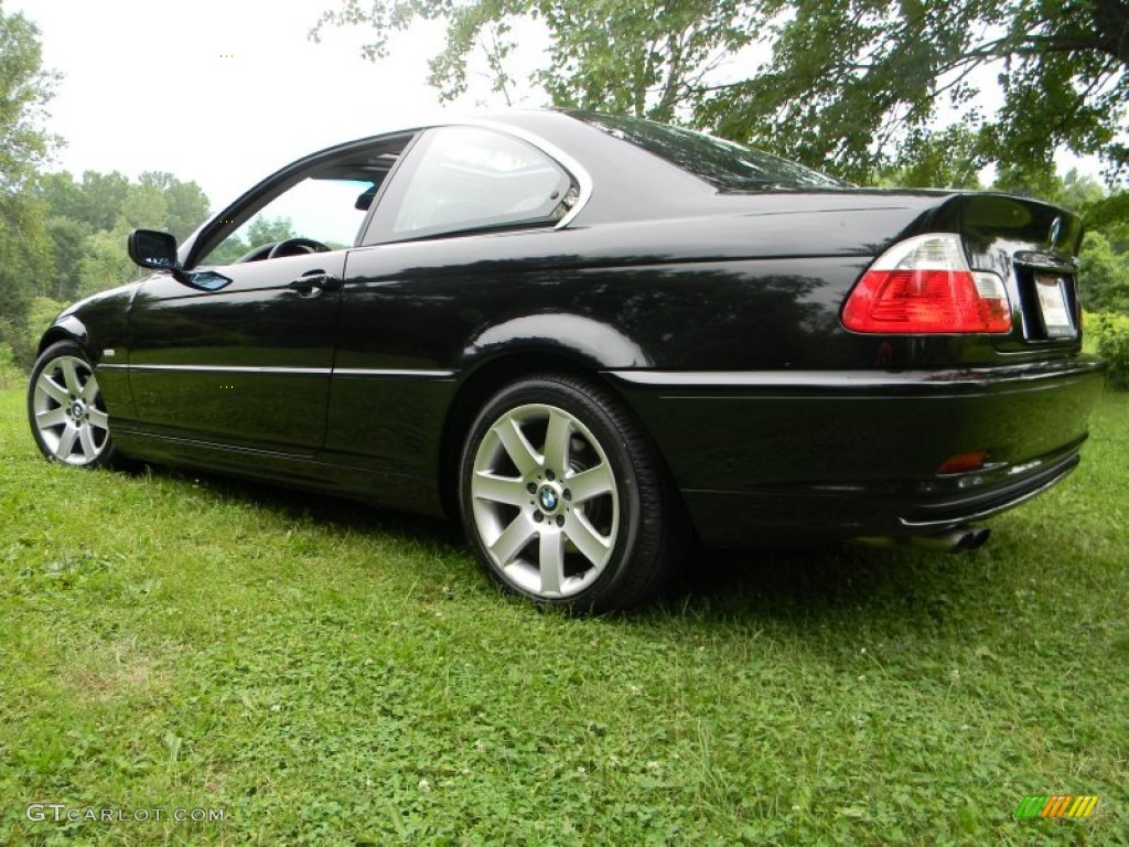 Jet black 2003 bmw 3 series 325i coupe exterior photo 51514036