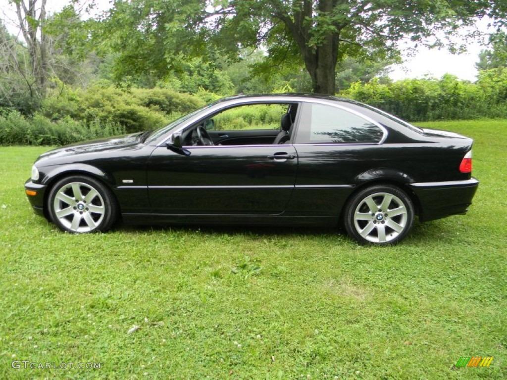 Jet black 2003 bmw 3 series 325i coupe exterior photo 51514054 gtcarlot com