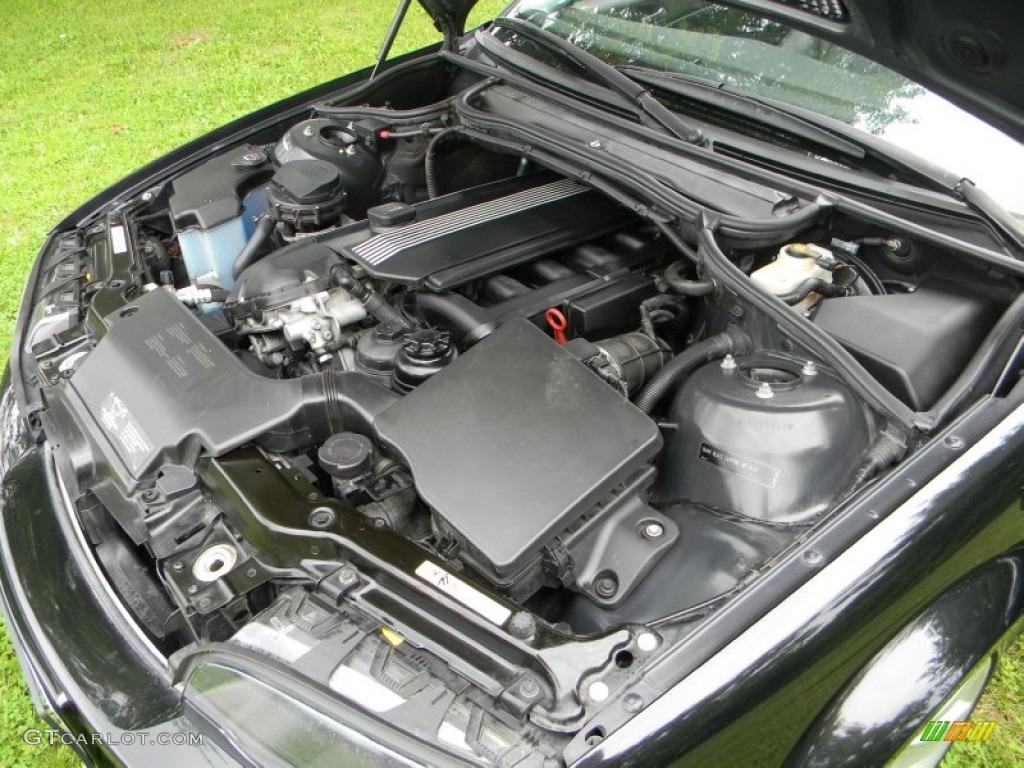 2003 BMW 3 Series 325i Coupe 25L DOHC 24V Inline 6 Cylinder