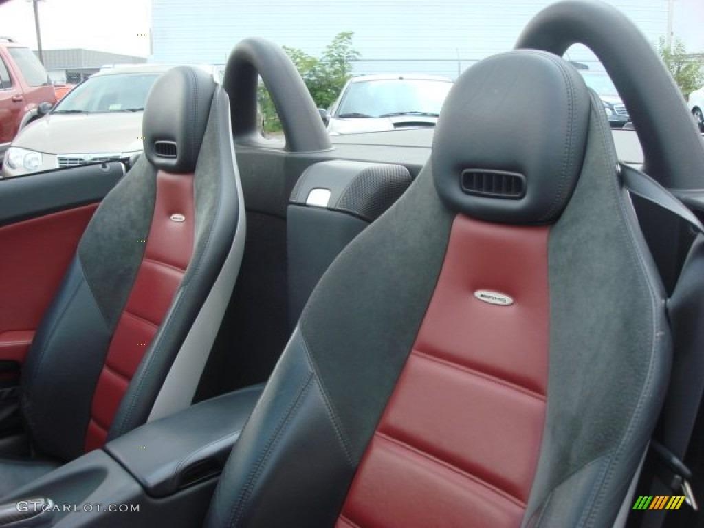 Black Red Interior 2006 Mercedes Benz Slk 55 Amg Roadster Photo 51520609