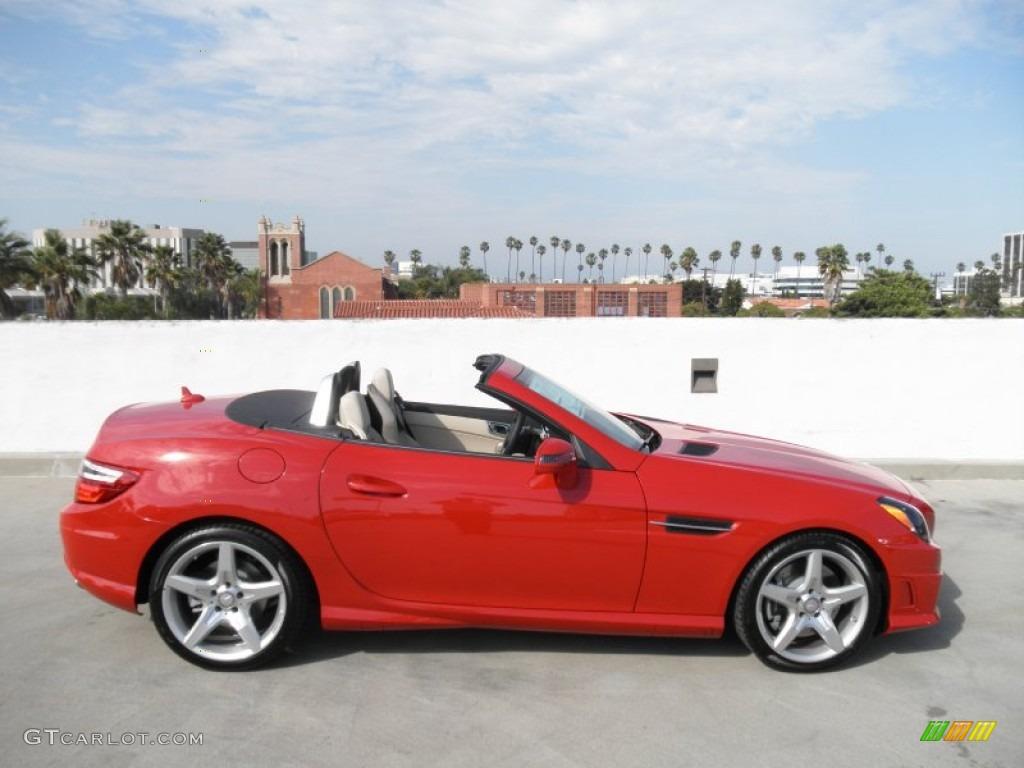 Mars red 2012 mercedes benz slk 350 roadster exterior for 2012 mercedes benz slk