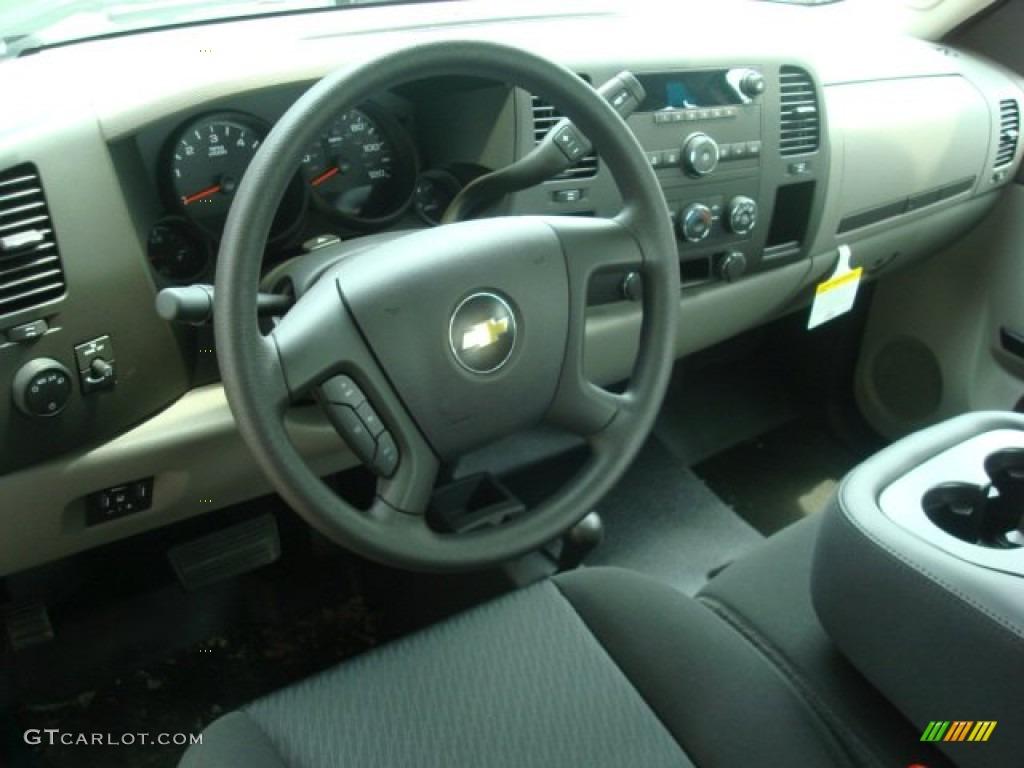 2011 Silverado 1500 Extended Cab 4x4 - Black / Dark Titanium photo #4