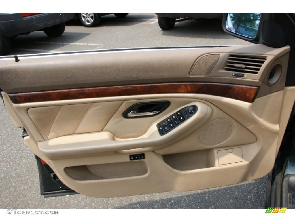 1997 Bmw 5 Series 540i Sedan Sand Beige Door Panel Photo 51524551
