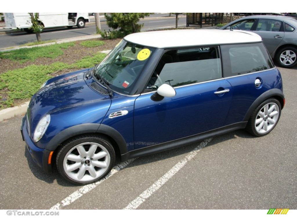 2003 indi blue metallic mini cooper s hardtop 51479112 photo 9 car color. Black Bedroom Furniture Sets. Home Design Ideas