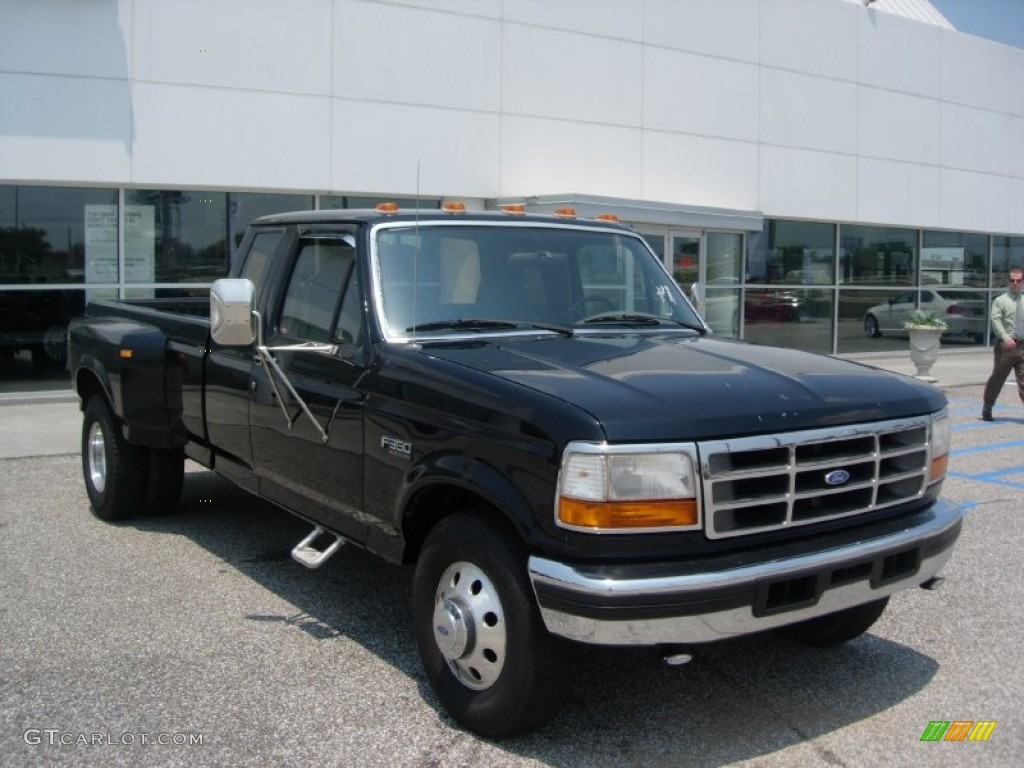 1997 Ford F 350 Dually Diesel Flat Bed Ford Trucks For | 2016 Car ...