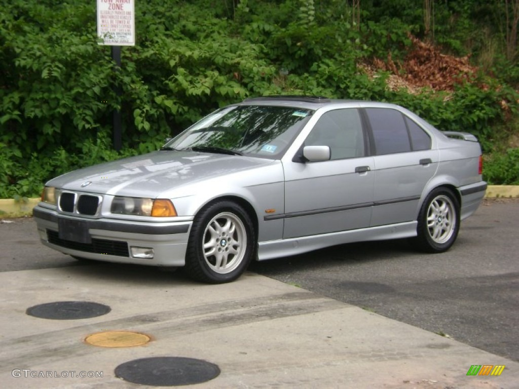1997 arctic silver metallic bmw 3 series 328i sedan 51479173 gtcarlot com car color galleries