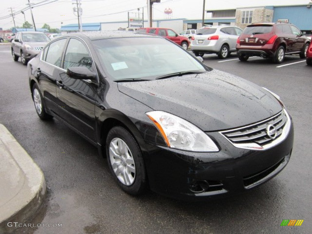Nissan Altima 2009 Black Super Black 2012 Nissan Altima 2.5 S Exterior Photo #51553206 ...