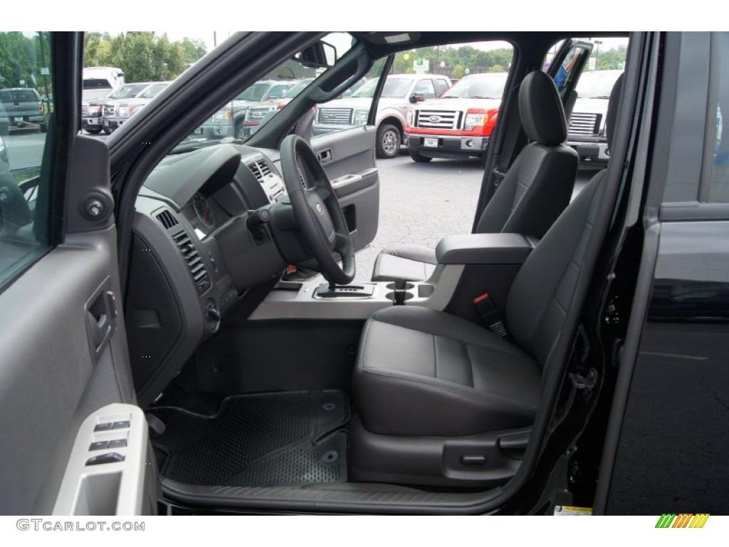 Charcoal Black Interior 2012 Ford Escape Xlt Photo