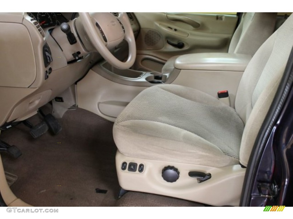 Medium Parchment Interior 2000 Ford Expedition Xlt 4x4 Photo 51559170