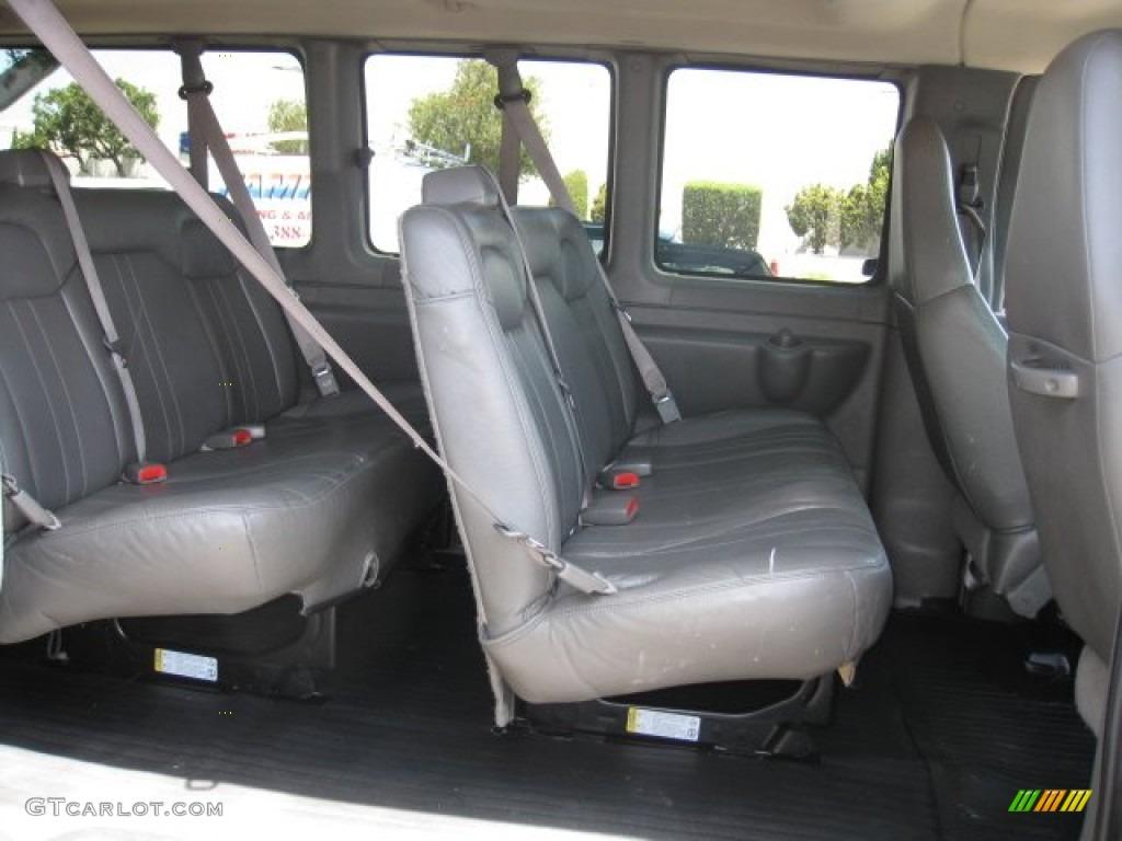 2008 chevrolet express ls 3500 passenger van interior photo 51563463