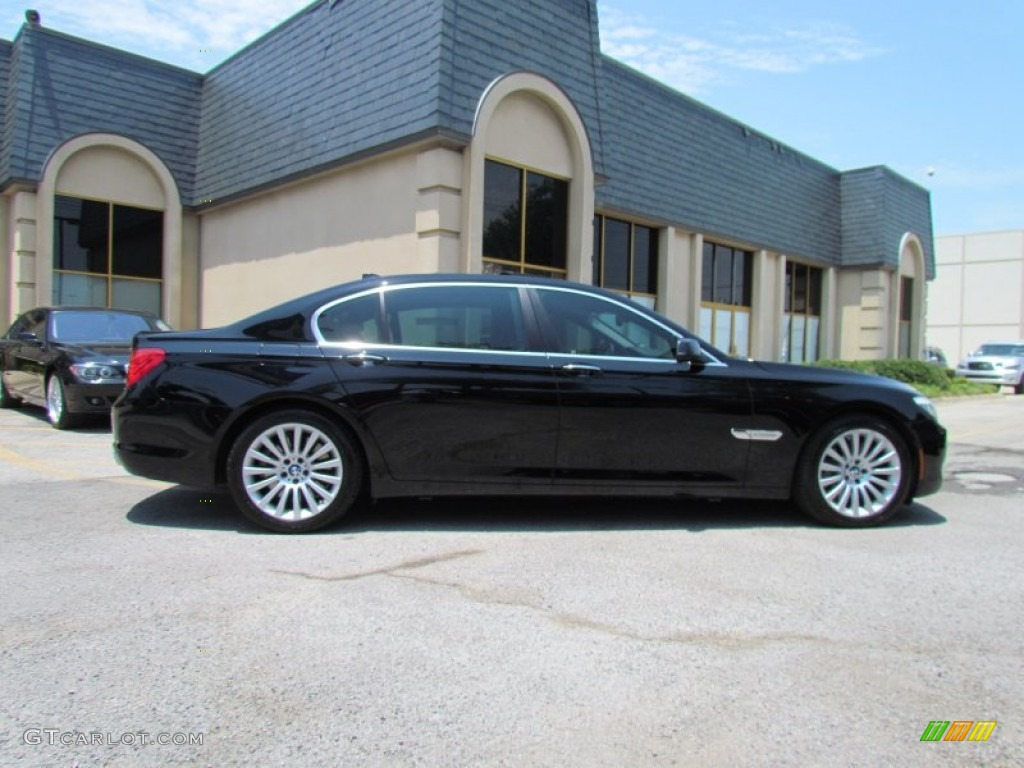 Jet Black 2010 Bmw 7 Series 750li Sedan Exterior Photo