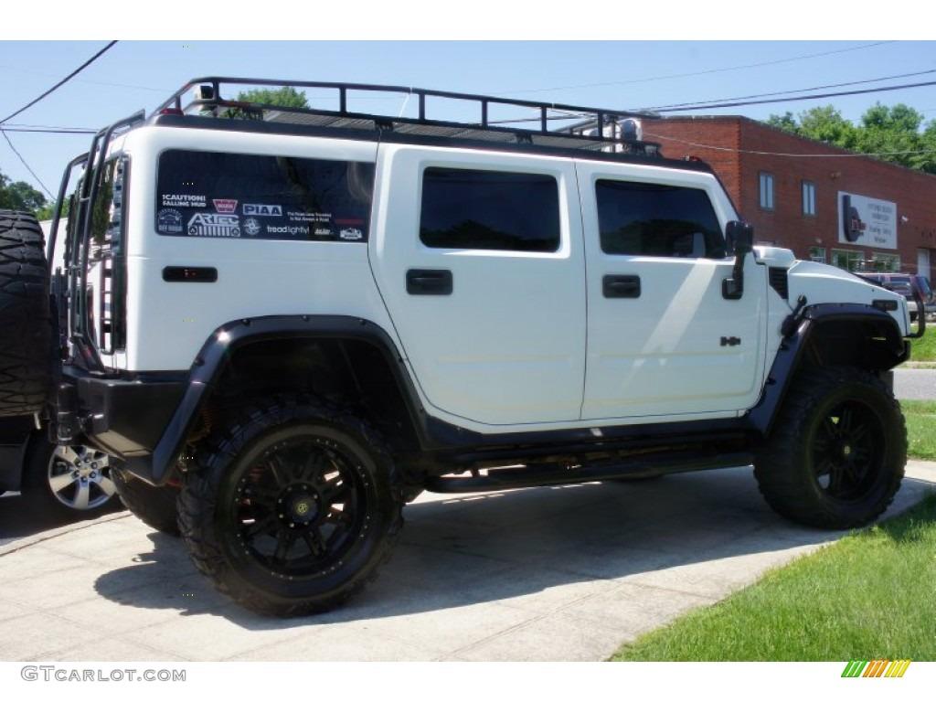 2003 white hummer h2 suv 51542289 car color galleries. Black Bedroom Furniture Sets. Home Design Ideas